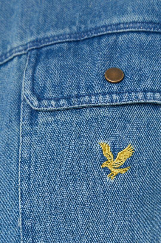 Lyle & Scott - Koszula jeansowa niebieski