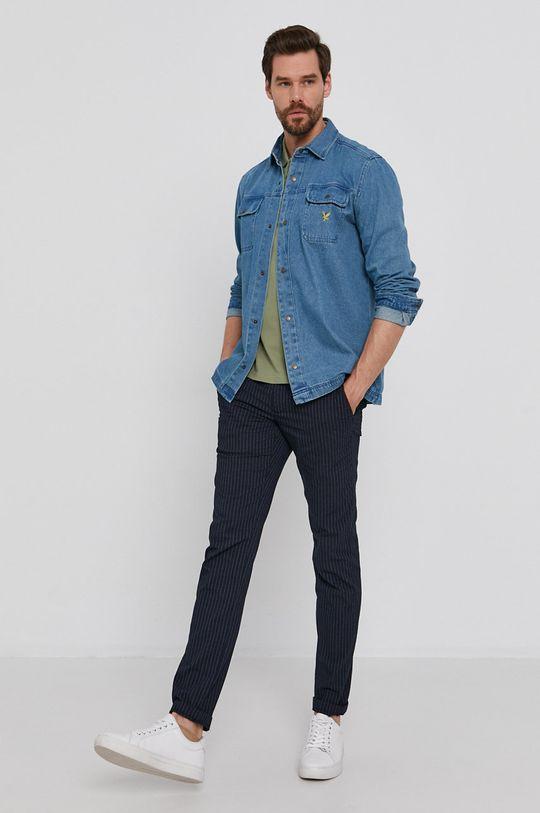 Lyle & Scott - Koszula jeansowa 100 % Bawełna