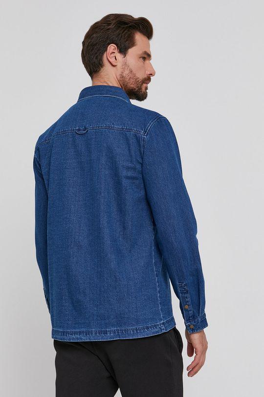 niebieski Lyle & Scott - Koszula bawełniana jeansowa