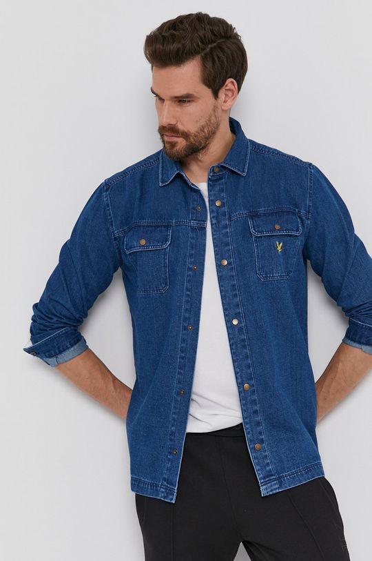 Lyle & Scott - Koszula bawełniana jeansowa Męski