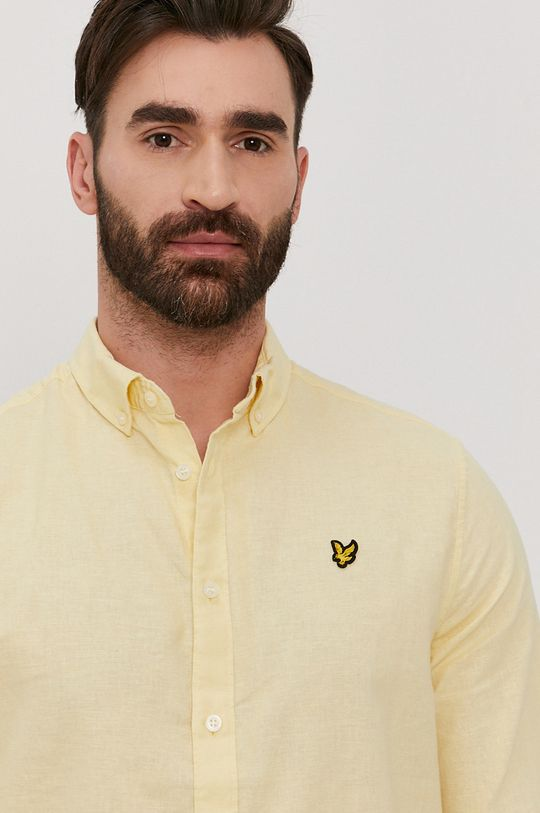 žltá Lyle & Scott - Košeľa Pánsky