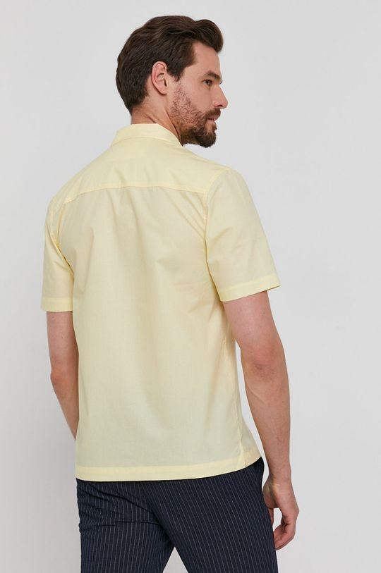 žlutá Lyle & Scott - Bavlněné tričko