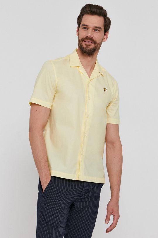 Lyle & Scott - Bavlněné tričko Pánský