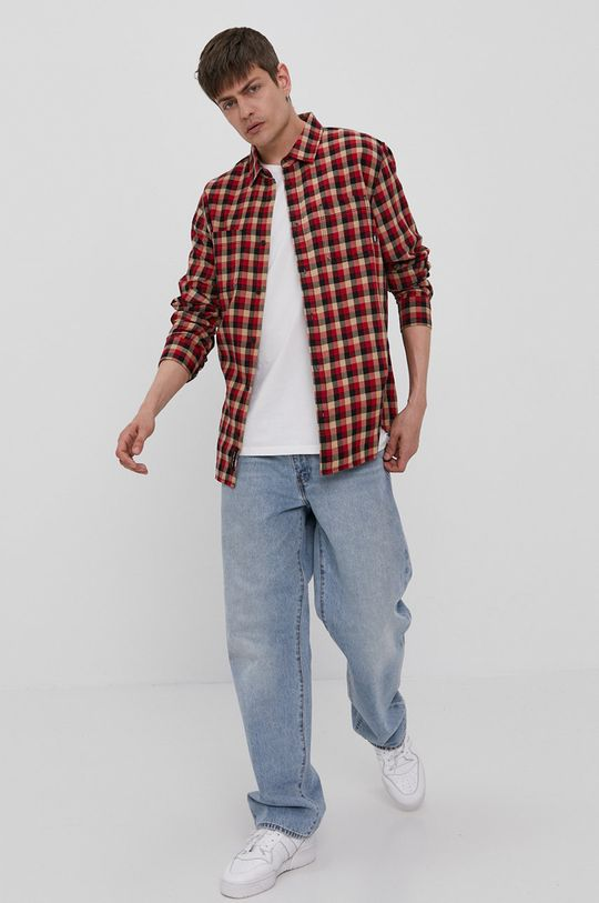 Vans - Koszula bawełniana 100 % Bawełna