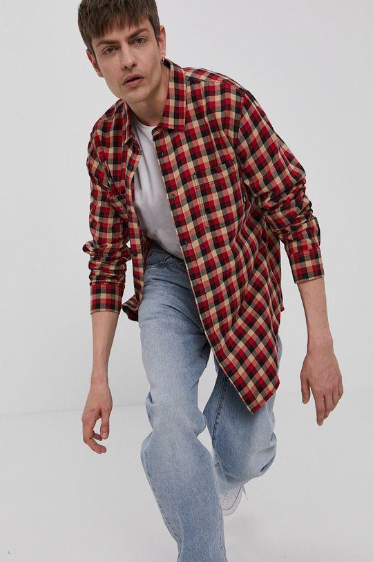 ostry czerwony Vans - Koszula bawełniana