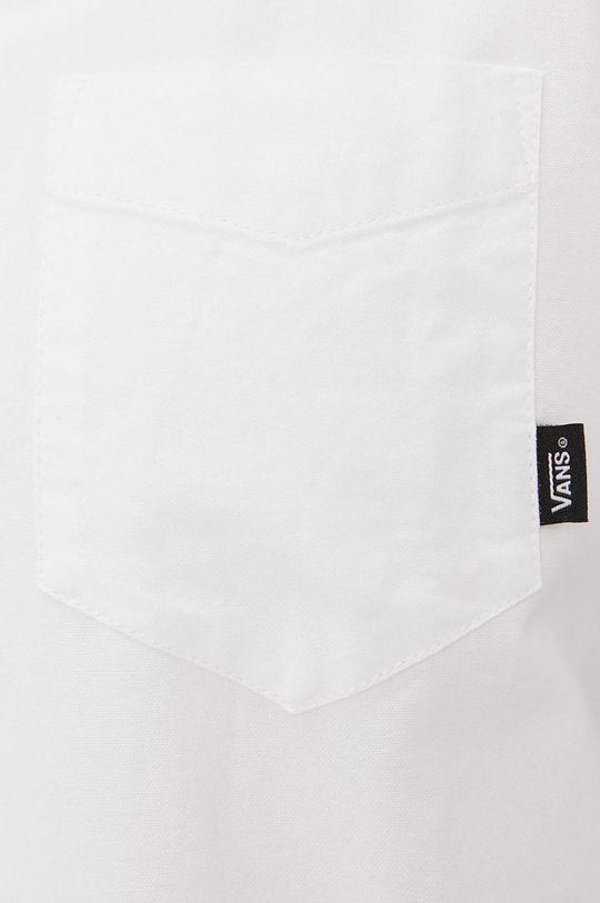 Vans - Bavlnená košeľa biela