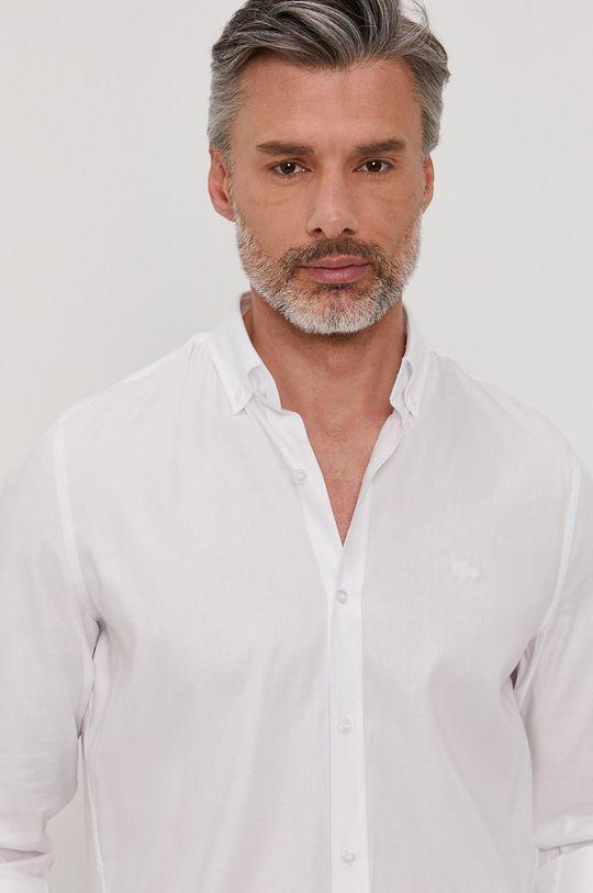 biela Lacoste - Košeľa Pánsky