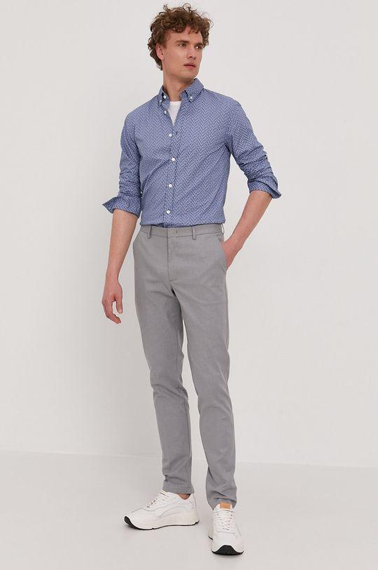 Boss - Koszula Boss Casual niebieski