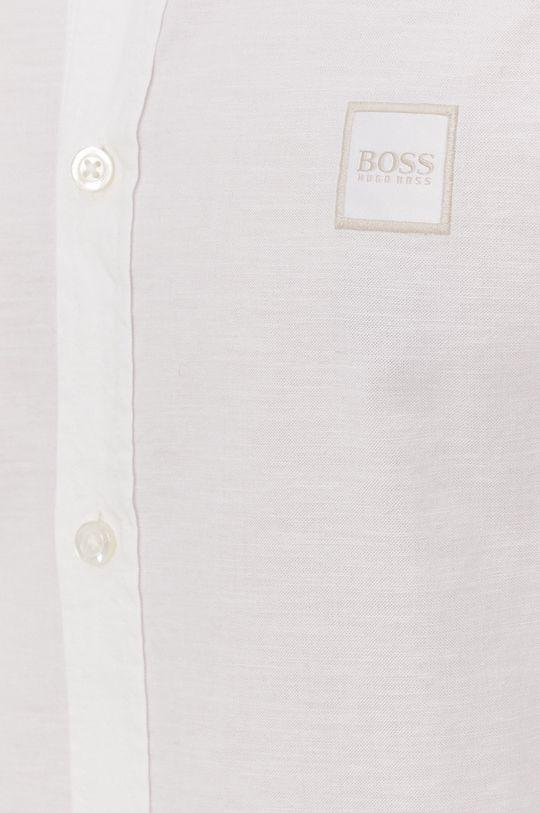 Boss - Koszula bawełniana Boss Casual biały