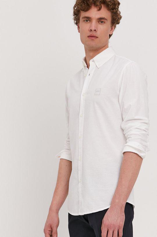 biały Boss - Koszula bawełniana Boss Casual