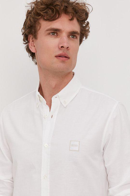 Boss - Koszula bawełniana Boss Casual Męski