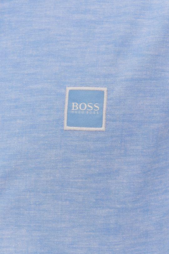 Boss - Koszula bawełniana Boss Casual jasny niebieski