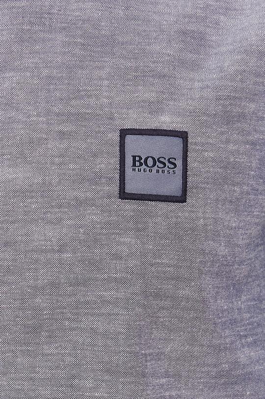 Boss - Koszula bawełniana Boss Casual granatowy