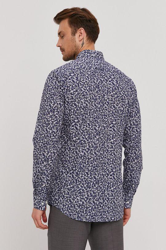 niebieski Boss - Koszula bawełniana