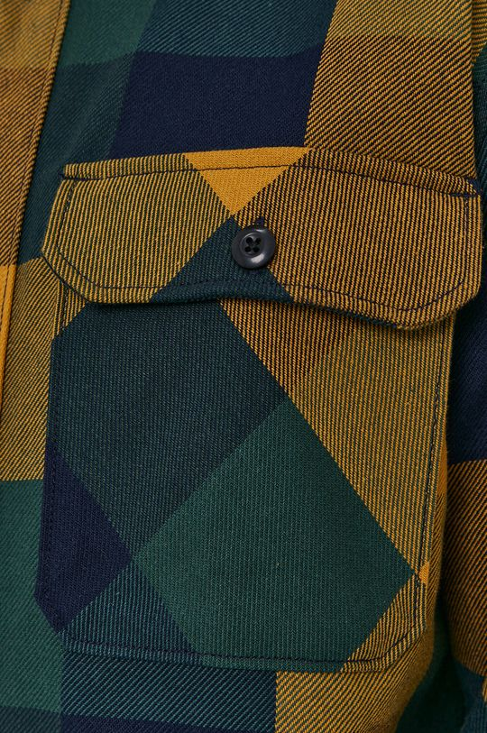 Selected - Koszula bawełniana żółty