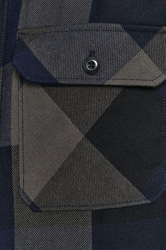 Selected - Koszula bawełniana czarny