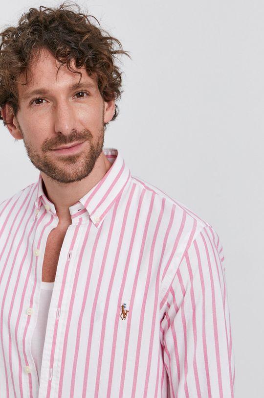 różowy Polo Ralph Lauren - Koszula bawełniana Męski
