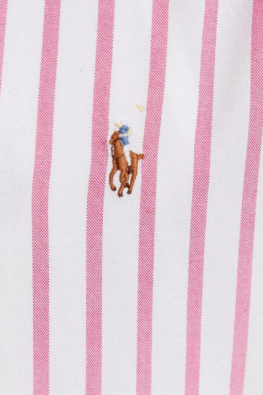 Polo Ralph Lauren - Koszula bawełniana różowy