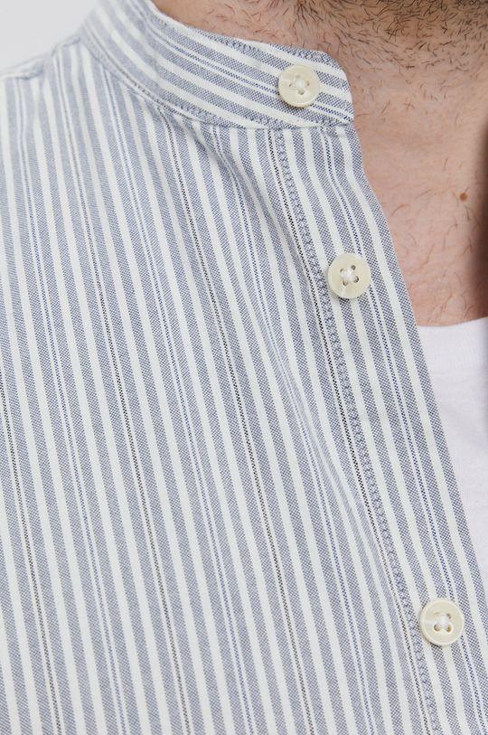 Selected - Koszula bawełniana szary