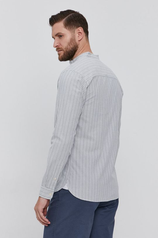 szary Selected - Koszula bawełniana