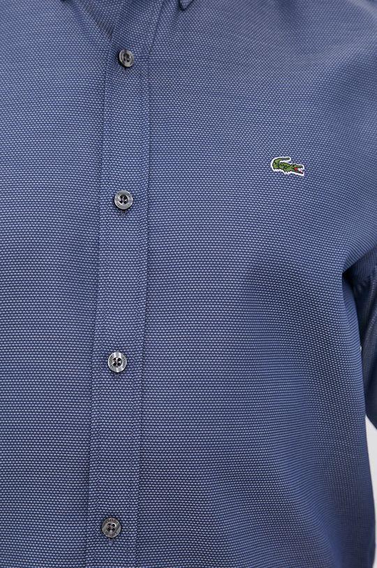 námořnická modř Lacoste - Bavlněné tričko