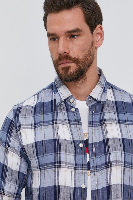 niebieski Tommy Hilfiger - Koszula Męski