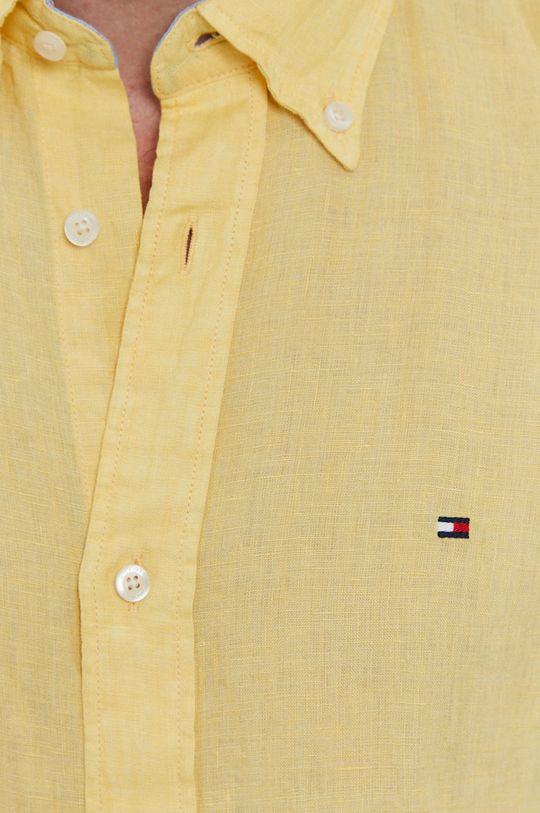 Tommy Hilfiger - Košeľa svetložltá