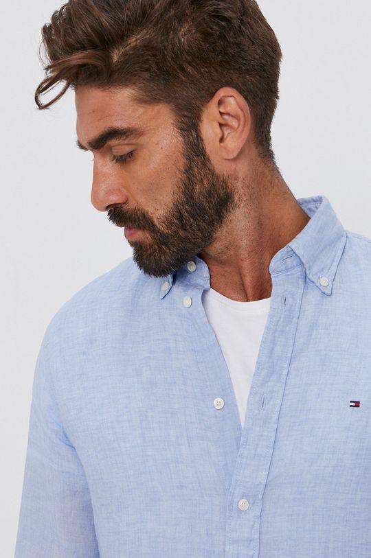 jasny niebieski Tommy Hilfiger - Koszula MW0MW17646.4891 Męski