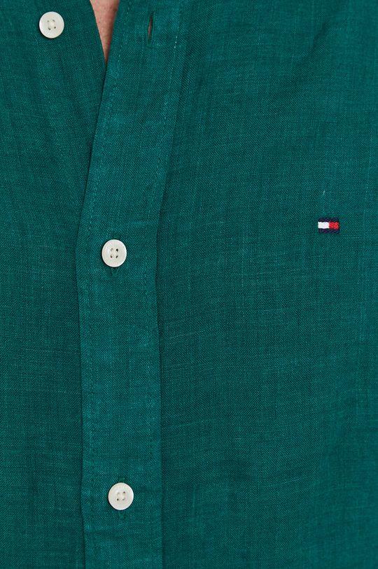 Tommy Hilfiger - Koszula zielony