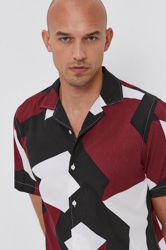 vícebarevná Tommy Hilfiger - Bavlněná košile Pánský
