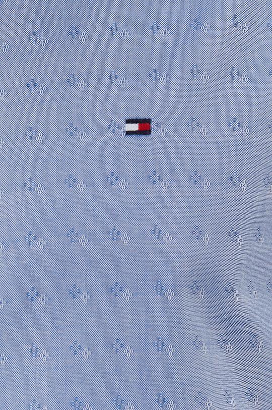 Tommy Hilfiger - Bavlněná košile světle modrá