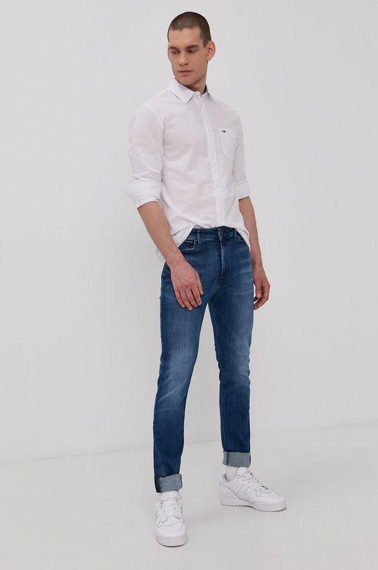 Tommy Jeans - Bavlnená košeľa  100% Bavlna