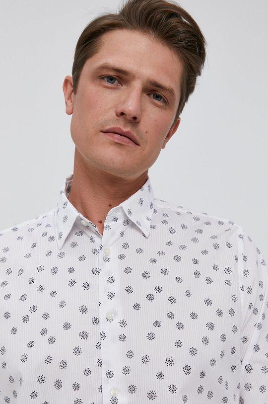 bílá Pepe Jeans - Bavlněné tričko Blenheim Pánský