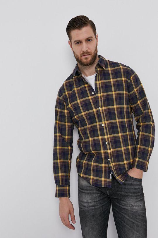 Pepe Jeans - Koszula bawełniana CALCUTT Męski
