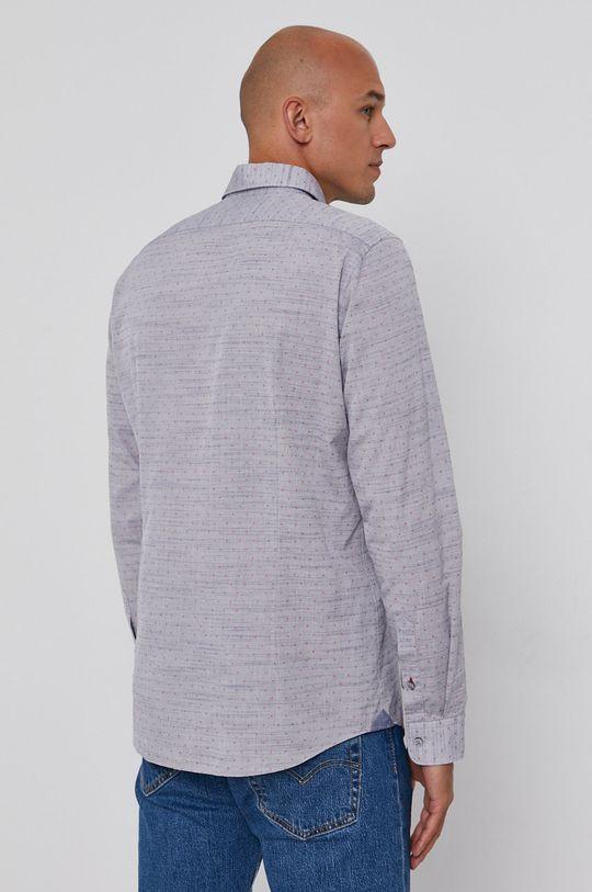 szary Boss - Koszula bawełniana