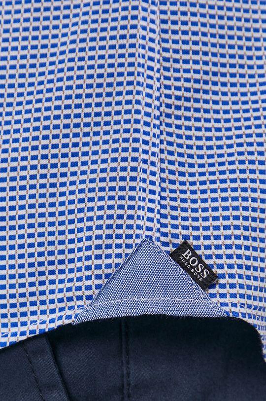 Boss - Koszula bawełniana niebieski