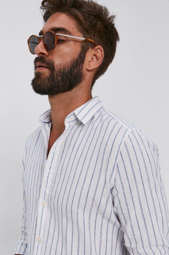 bílá Sisley - Košile Pánský
