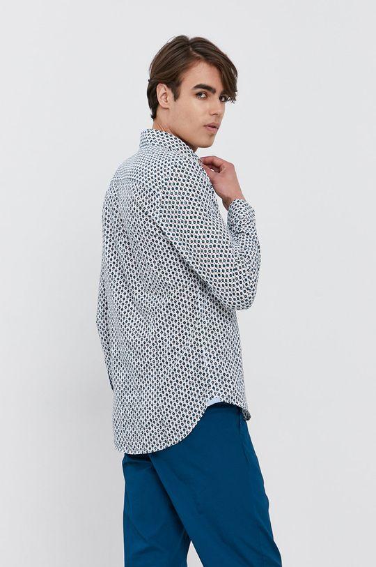 bílá Sisley - Bavlněné tričko
