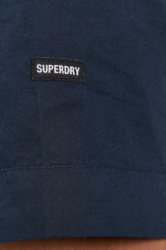 Superdry - Košeľa tmavomodrá