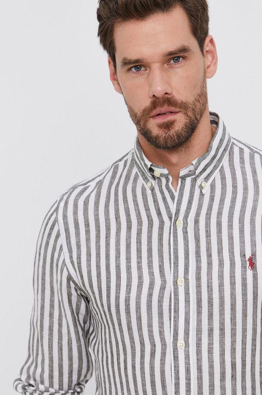 olivová Polo Ralph Lauren - Košile Pánský