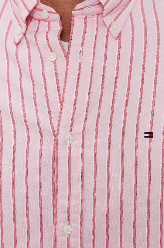 Tommy Hilfiger - Koszula bawełniana różowy
