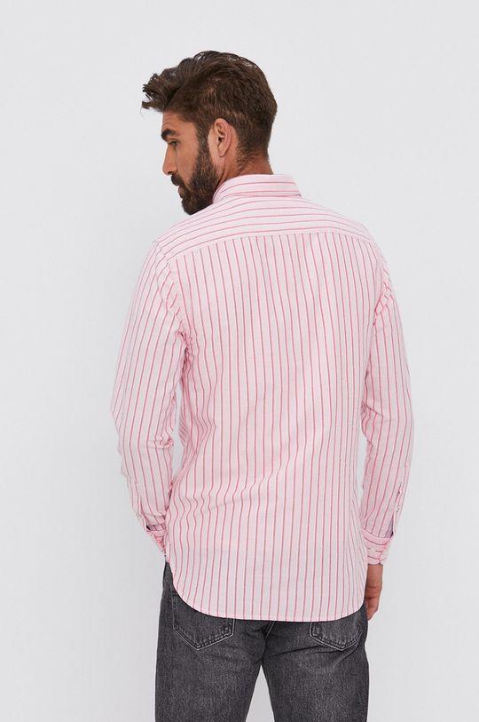różowy Tommy Hilfiger - Koszula bawełniana