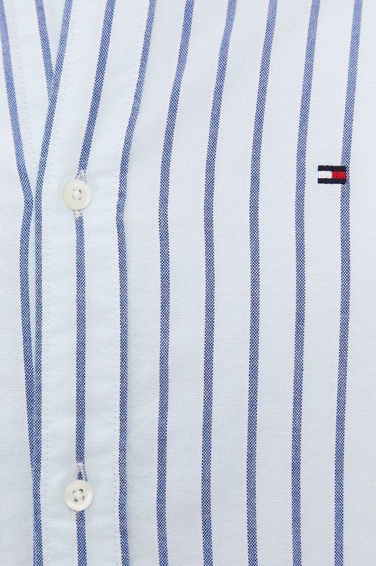 Tommy Hilfiger - Koszula bawełniana jasny niebieski