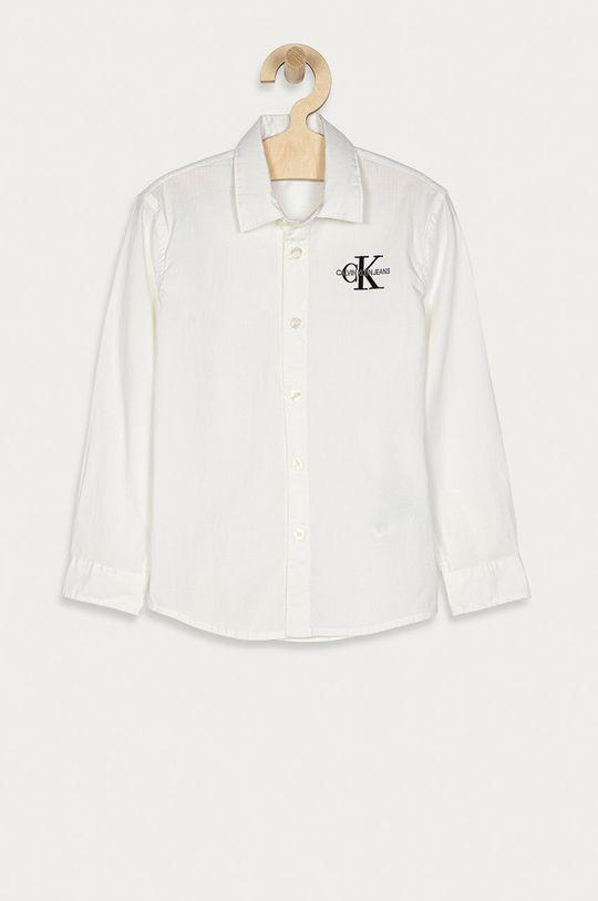 biały Calvin Klein Jeans - Koszula dziecięca 104-176 cm Chłopięcy