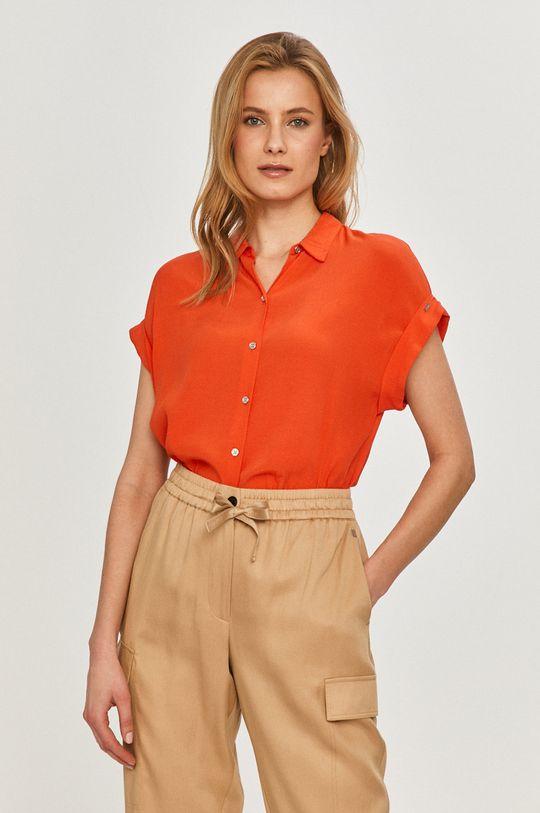 pomarańczowy Calvin Klein - Koszula Damski