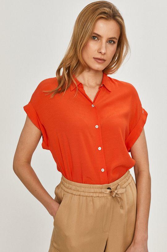 pomarańczowy Calvin Klein - Koszula