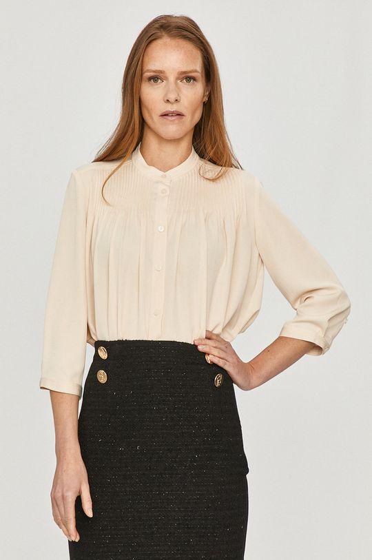 kremowy Calvin Klein - Koszula Damski