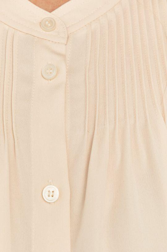 Calvin Klein - Koszula kremowy