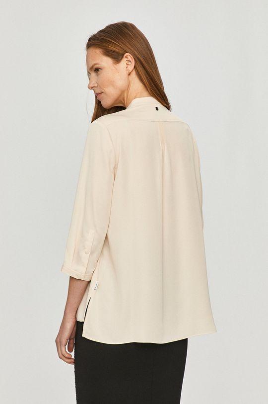 kremowy Calvin Klein - Koszula