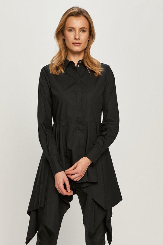 černá Karl Lagerfeld - Bavlněná košile Dámský